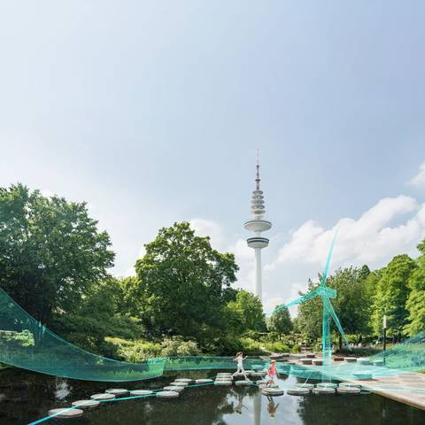 KeyVisual from the Planten un Boomen garden in Hamburg