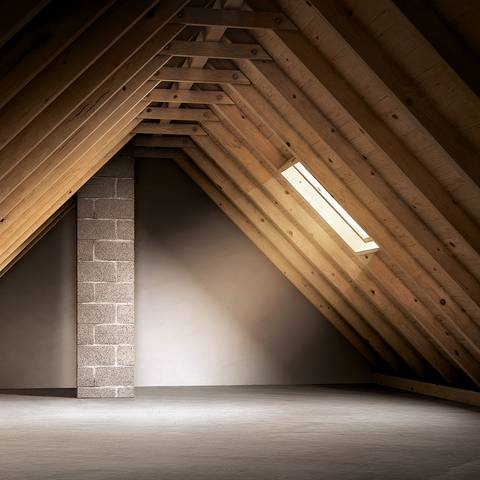 View into an exploited loft