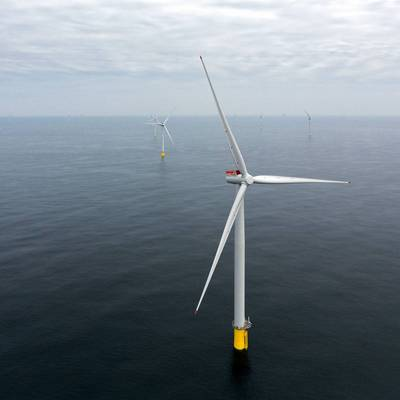 Picture of an offshore wind turbine